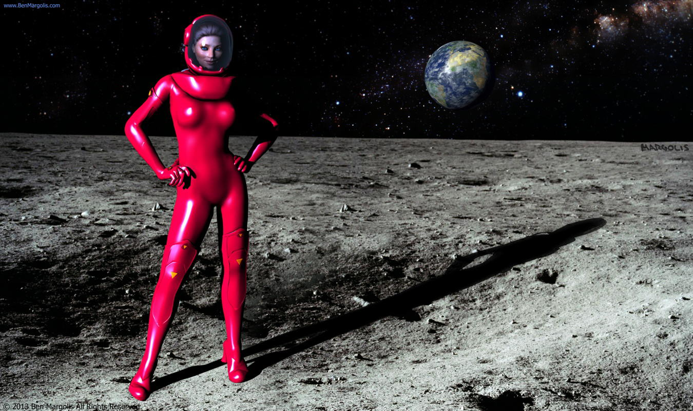 The Girl in the Red Space Suit #2